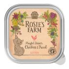 Rosie's Farm Kitten Playful Dinner with Chicken & Trout
